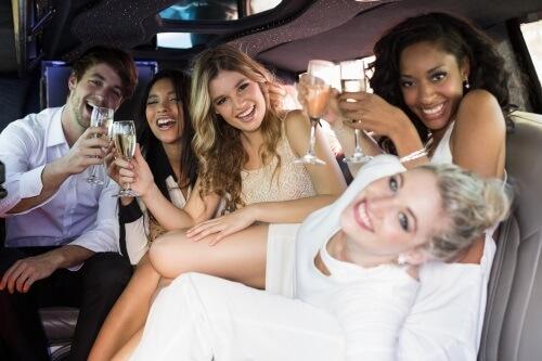 bachelor party limo glendale