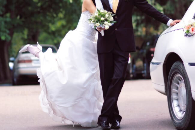 wedding limo glendale az
